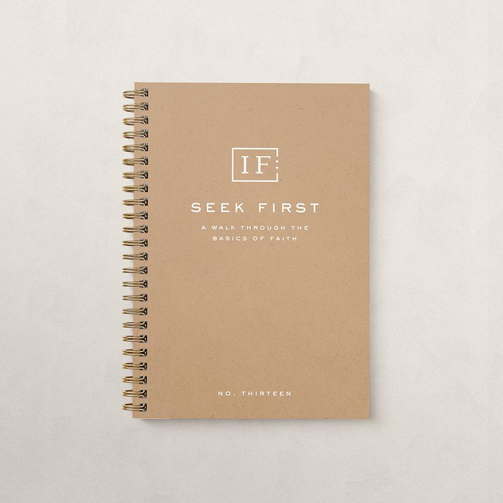 Seek First Book Cover
