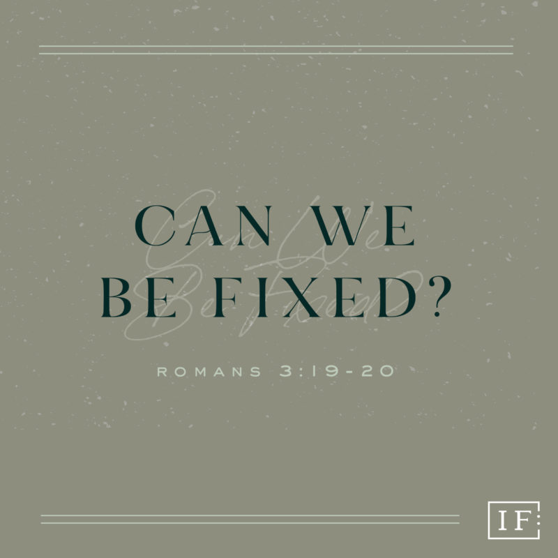 Can we be fixed? Book Cover