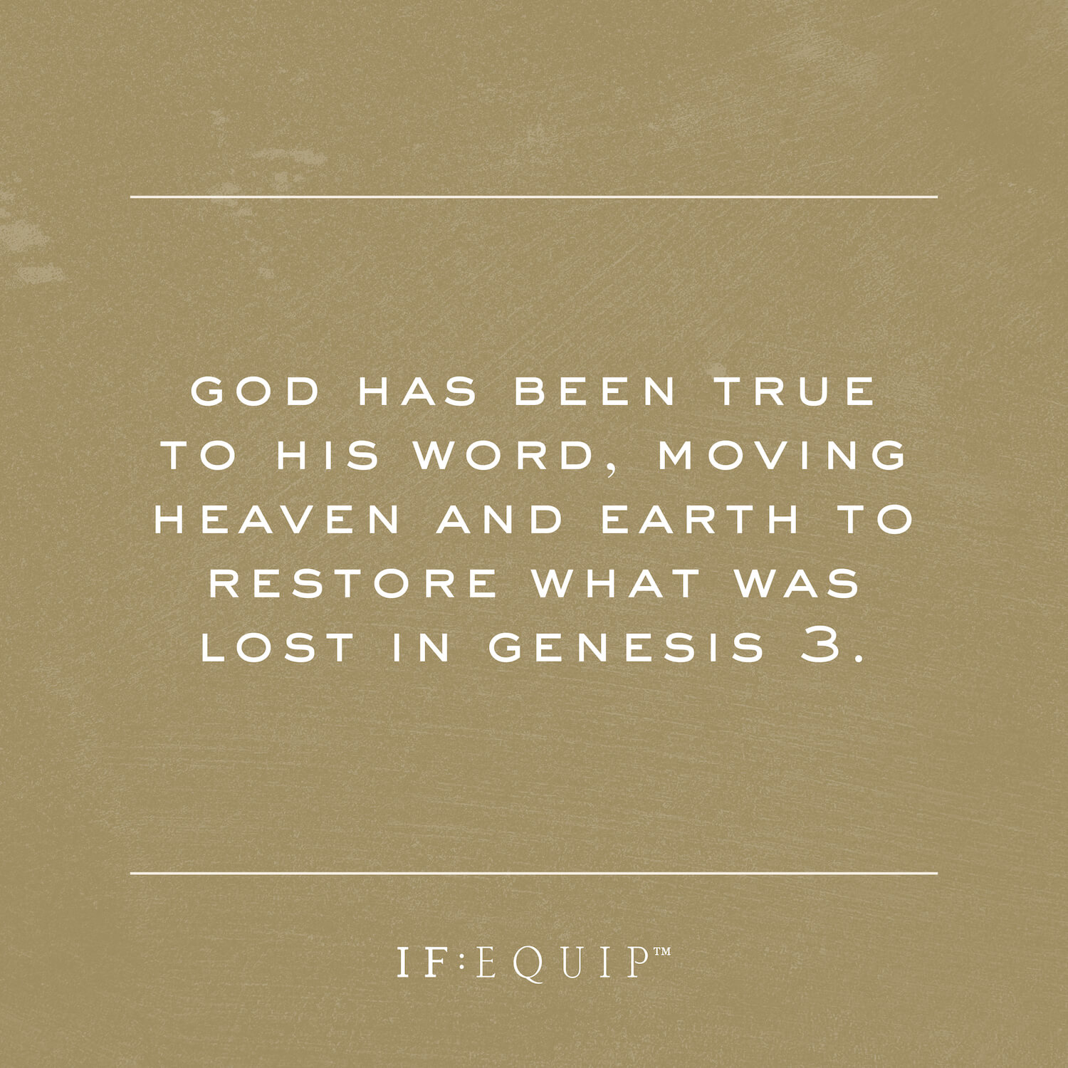God Restores What is Lost Book Cover