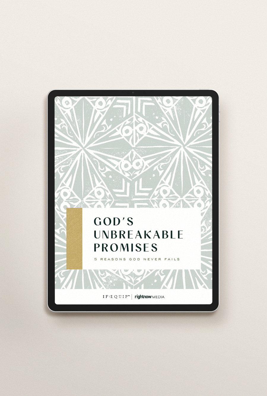 God's Unbreakable Promises Book Cover