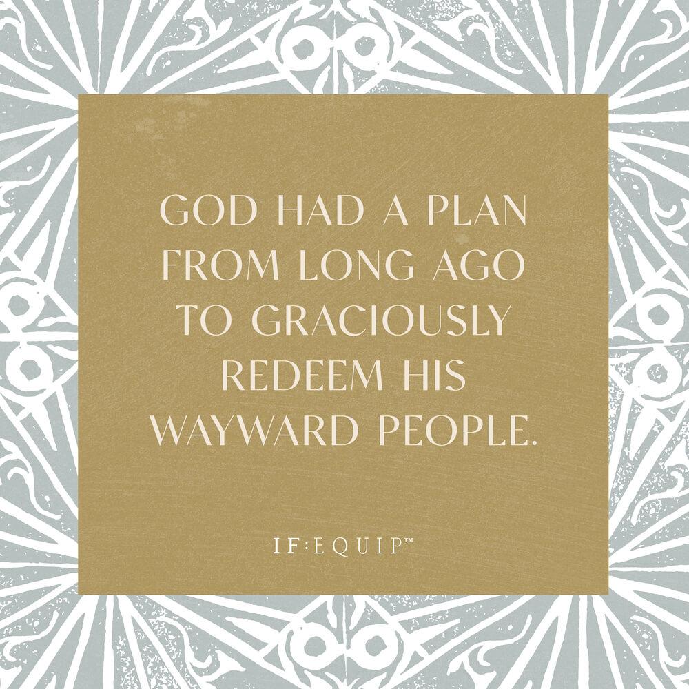 God Redeems His Wayward People Book Cover